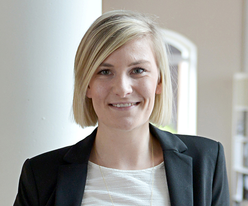 Lise Randeris rekrutterinskonsulent hos Hesehus
