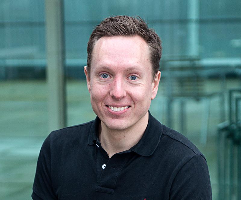 Lars senior softwareudvikler hos Hesehus