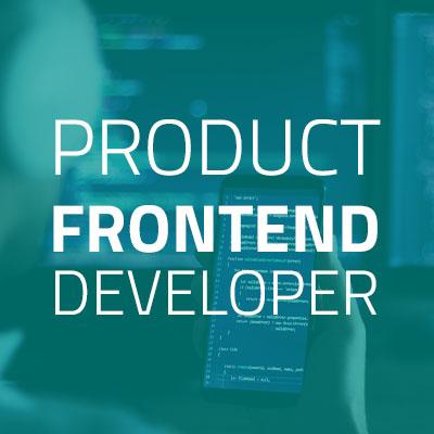Product Frontend Developer