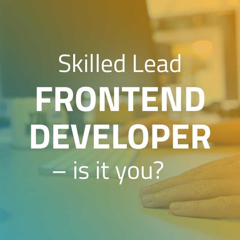 Lead Frontend Developer