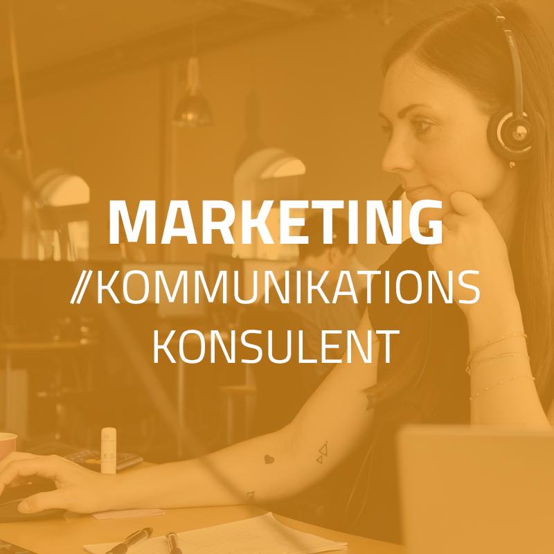 Marketing- & kommunikationskonsulent