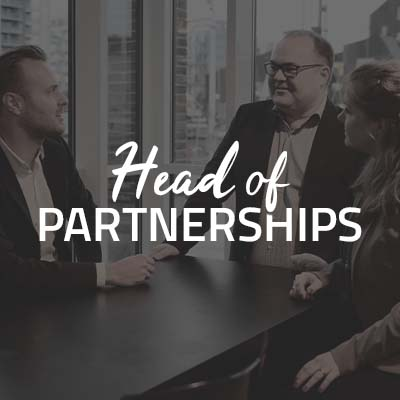 Head of Partnerships